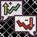 Trading Conversation Icon