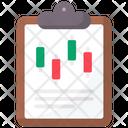 Trading Data Icon