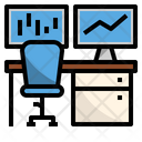 Trading room Icon