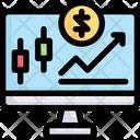 Trading Stock Icon