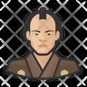 Traditiona Japanese Man Avatar User Icon