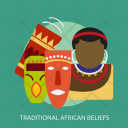 Traditional African Beliefs Icon