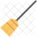 Traditional Broom Icon