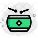 Traditional Drum Icon
