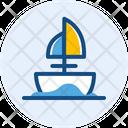 Traditional Ship Sail Boat Boat Icon