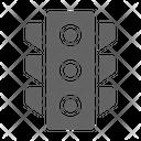 Traffic Light Road Icon
