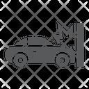 Traffic Accident Car Icon