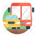 Traffic Vehicles Automobiles Icon