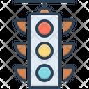 Traffic Traffic Light Stoplight Icon