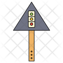Traffic Signals Board Icon