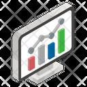 Traffic Analysis Market Research Data Analytics Icon