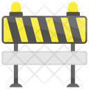 Traffic Barricade Icon