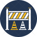 Traffic Barrier Traffic Cone Check Point Icon