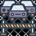 Block Stop Traffic Icon