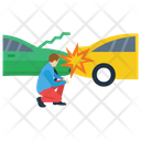 Traffic Collision Icon