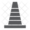 Road Cone Barrier Icon