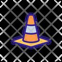 Cone Closed Construction Icon