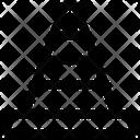 Traffic Cone Construction Cone Cone Pin Icon