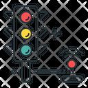 Traffic Control Traffic Signal Joystick Icon