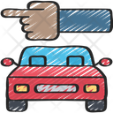 Traffic Direction Car Policing Icon
