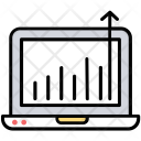 Growth Website Traffic Icon