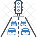 Traffic Jam Road Icon