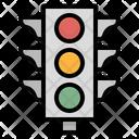 Light Traffic Road Icon
