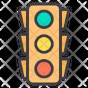Traffic Light Seo Red Light Icon