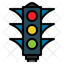 Traffic Light Transportation Icon