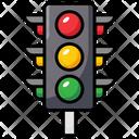 Traffic Light Traffic Lamp Semaphore Icon