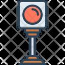 Red Light Traffic Icon