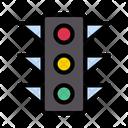 Traffic Signal Road Icon