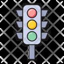 Signal Traffic Road Icon