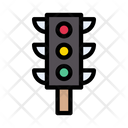 Traffic Signal Road Icon