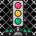 Traffic Light Traffic Signal Lights Icon