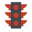 Lamp Light Traffic Icon