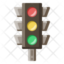 Traffic Light Semaphore Icon
