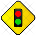 Red Green Lights Icon