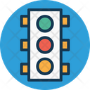Traffic Signals Lamps Icon