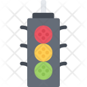 Traffic Light Delivery Icon
