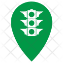 Traffic Light Point Icon