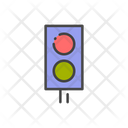 Traffic Lights Light Traffic Pole Icon
