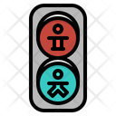 Traffic Lights Stop Icon