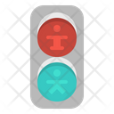 Traffic Lights Stop Icon