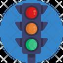 Traffic Lights Road Icon