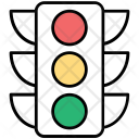 Traffic Signals Semaphore Icon