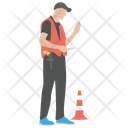 Traffic Police Road Police Warden Icon