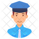 Traffic Police Traffic Officer Traffic Controller Icon