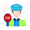 Traffic police Icon