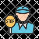 Traffic Police Avatar Icon